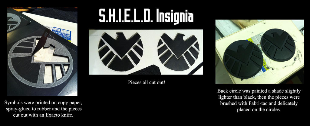 Avengers Black Widow Shield Insignia By Full Dive On