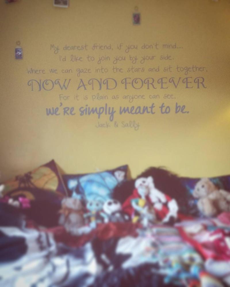 My Tim Burton inspired room by lolitsruby on DeviantArt