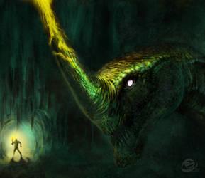 Unicorn dragon by Haridimus