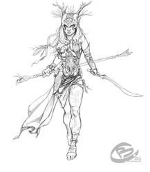 Druid finished by Haridimus