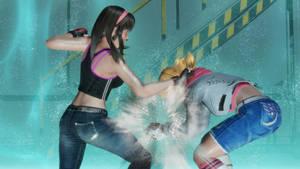 Tina vs Hitomi