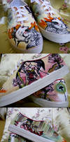 Okami Shoes by pinkbutterflyofdeath