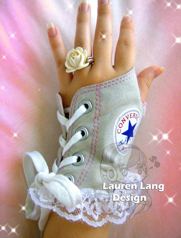 Converse Glove by pinkbutterflyofdeath