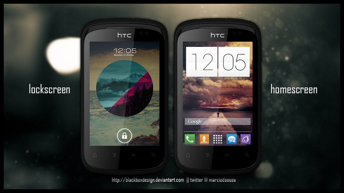 Back to Basics - HTC Explorer @ CM9 by blackboxdesign