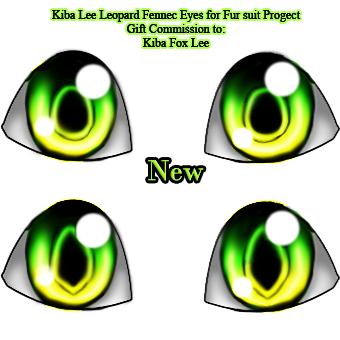 Kiba Lee 2 - eyes Green/yellow (gift commission) by Blutengle