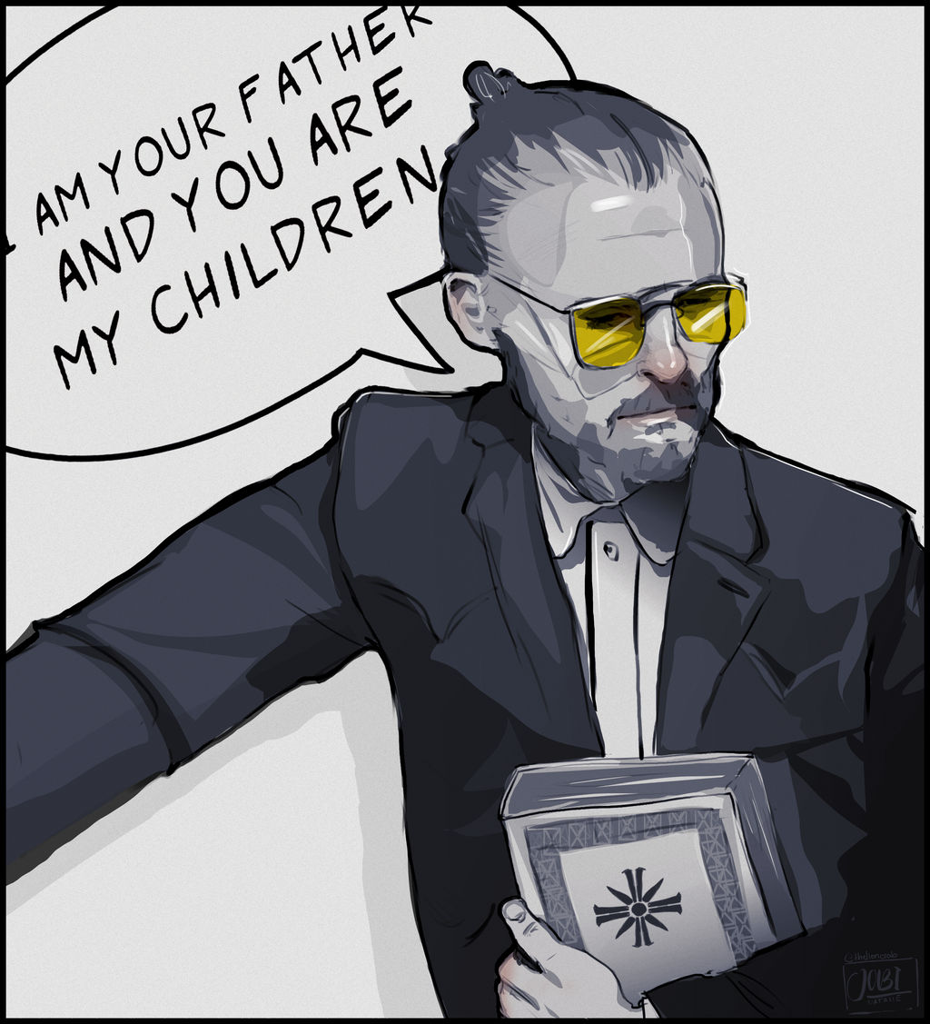 Joseph Seed The Father Far Cry 5 By Themoodycrab On Deviantart