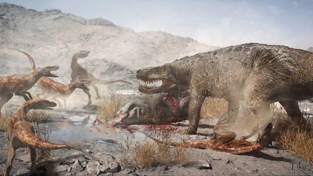 Saurosuchus and Staurikosaurus