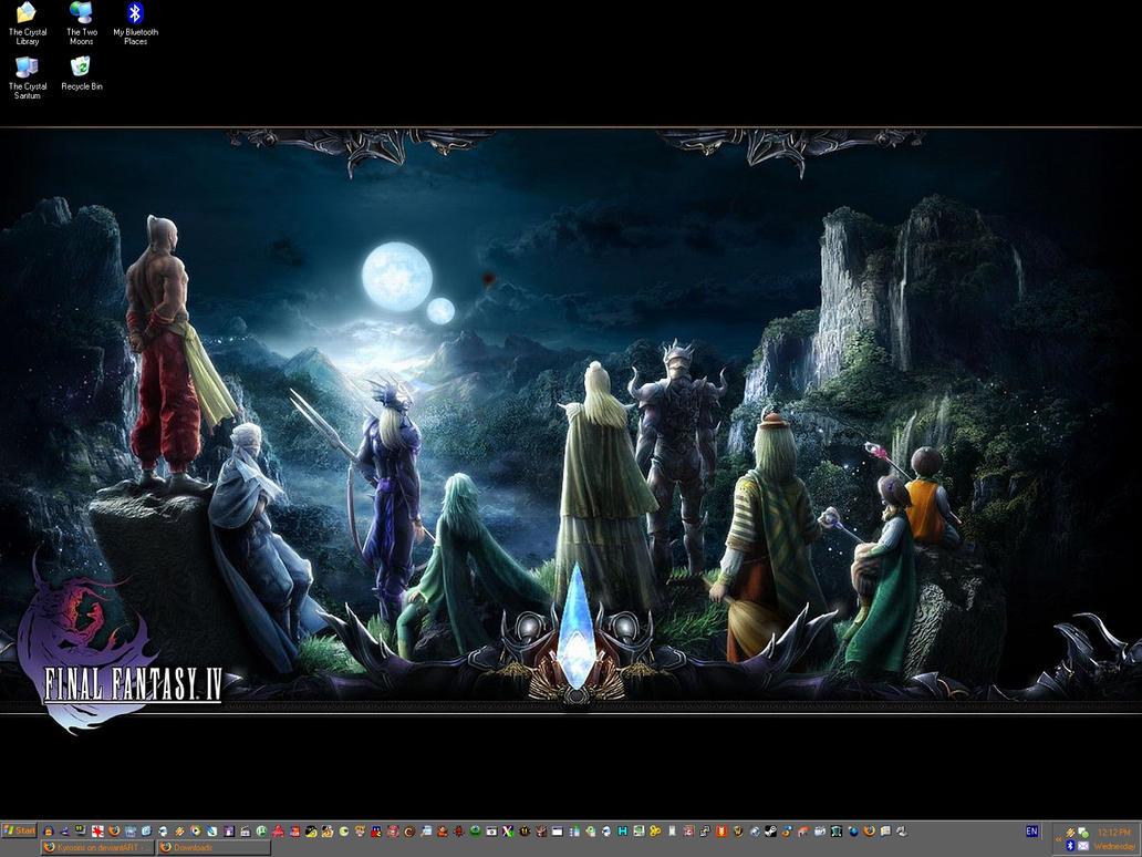 Desktop + Wallpaper: 20080508 by Kyrosiris