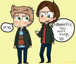 Dean wuvs hugs