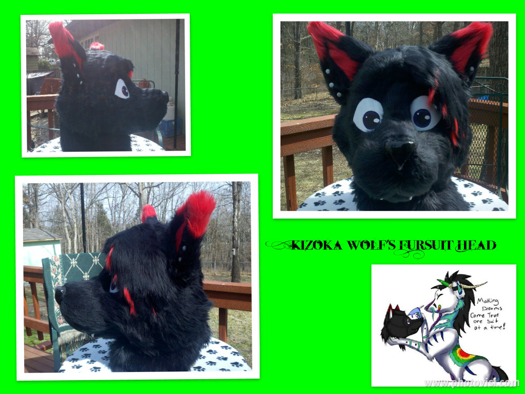 Kizoka Wolf Partial Head FINISHED! by shawnfennox