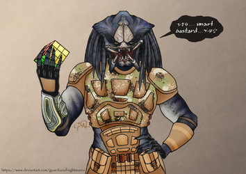 Emissary Predator Request by GuardianOfNightmares