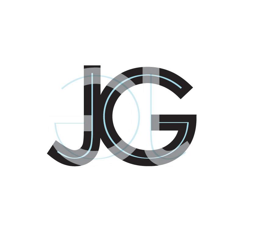 JG Letters Design Logo Stock Vector - Image: 54340487