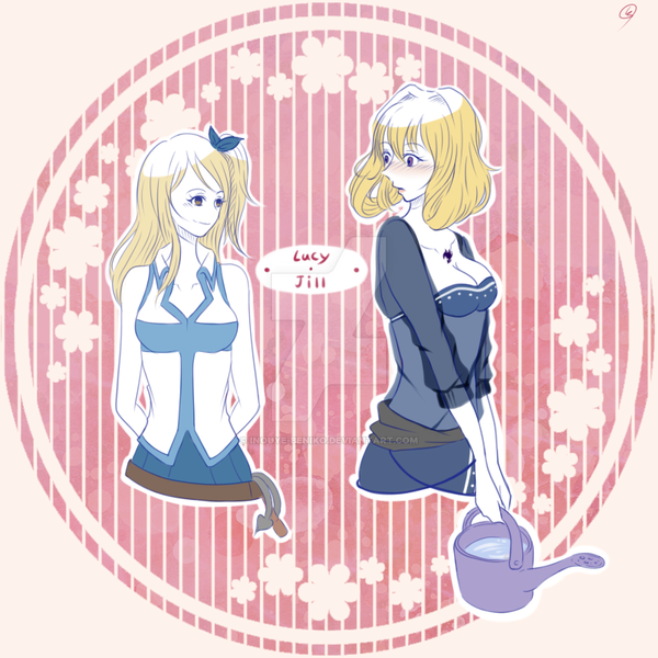 Lucy and Jill by Inouye-Beniko