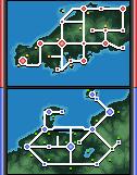 2 Maps by Aigue--marine
