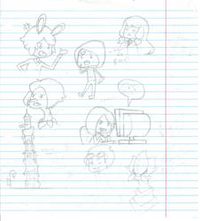 Paper Sketches 1