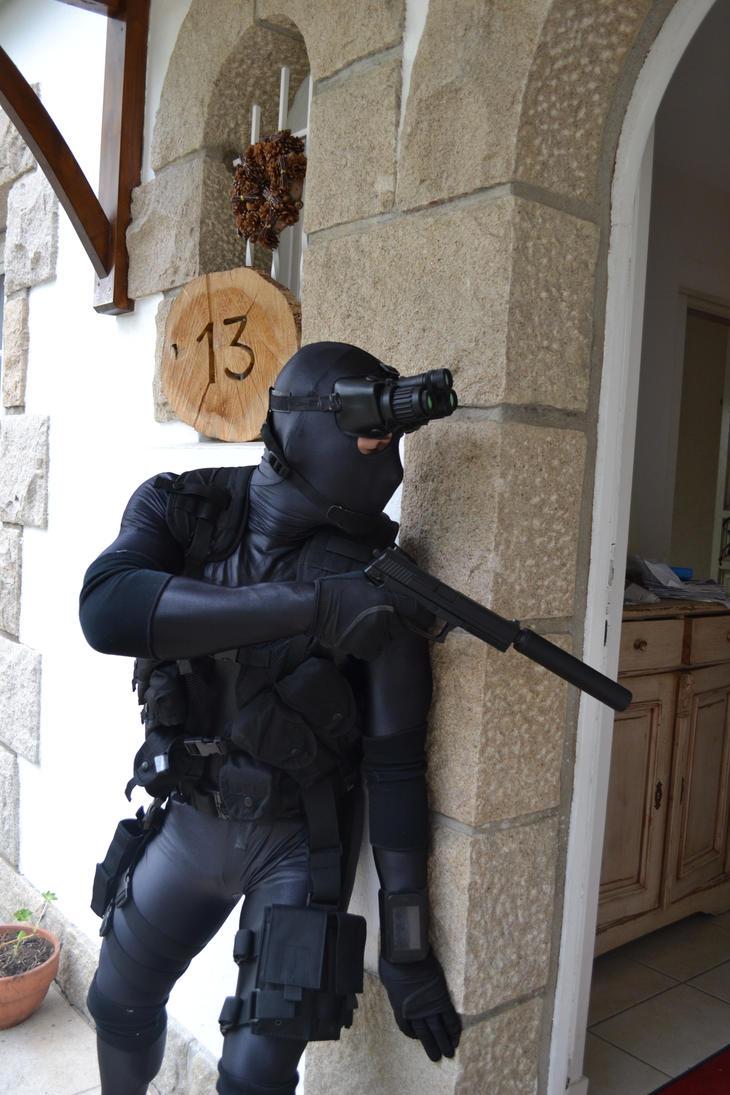 costumes fun in zentai - Splinter Cell Halloween Costume