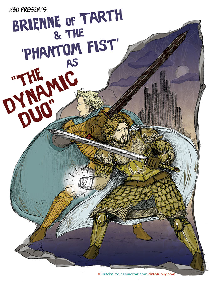 The Dynamic Duo of Westeros by sketchditto