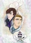 A Tea Serving - Sherlock and John