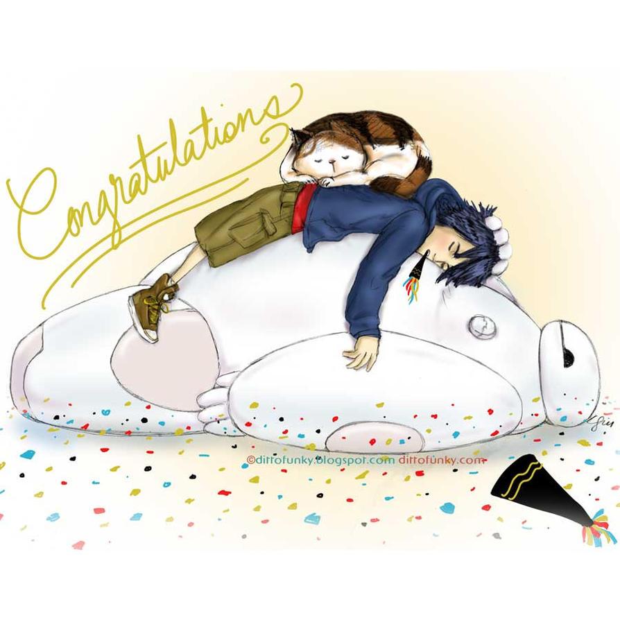 Big Hero Congrats! by sketchditto