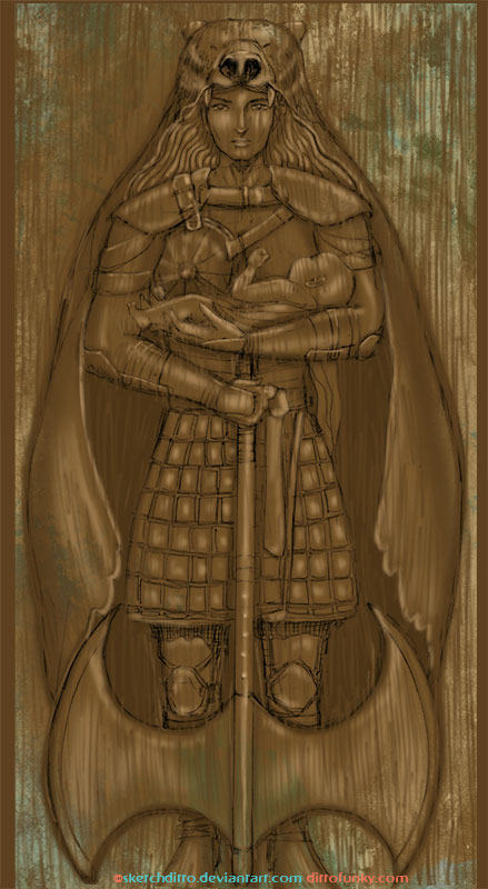 Lady Mormont Gate by sketchditto