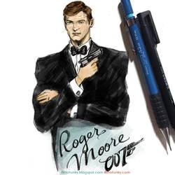 Roger Moore - James Bond 007