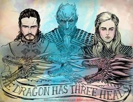 The Dragon Has Three Heads