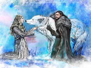 When Daenerys Meets Ghost