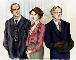 Friendzoned! Downton Abbey