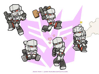 Mini-Megatron by juzo-kun