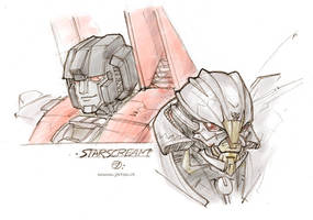 TF doodles - Starscream