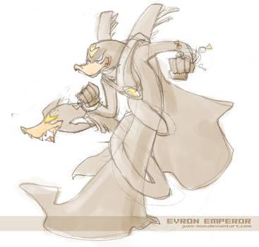 PKNA fanart - Emperor sketch