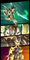TF fanart - Battle