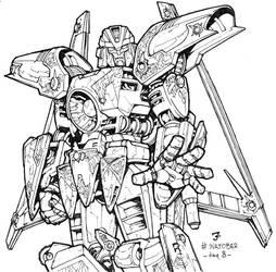 Inktober - Vector Prime by juzo-kun