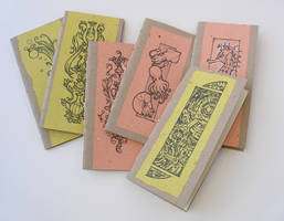 Hand bound booklets