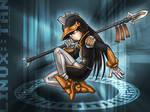 OS-tan fanart: Linux-tan