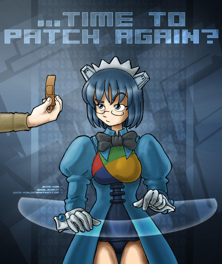 OS-tan fanart: patch time... by juzo-kun