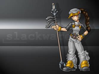 Linux-tan fanart: Slackware