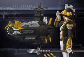 Spaceship. - another version by juzo-kun