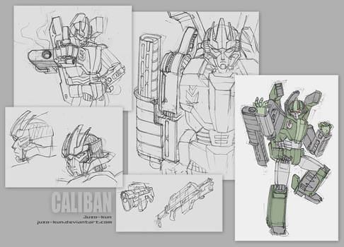 Mecha doodles IV - Big bad bot