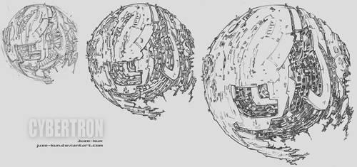 Mecha doodles V - Cybertron.