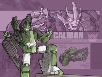 Something mecha - Caliban by juzo-kun