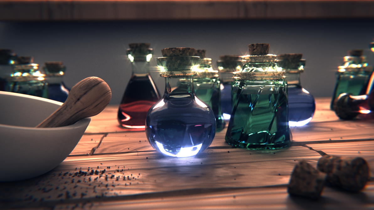 Need some potions? by Xels034