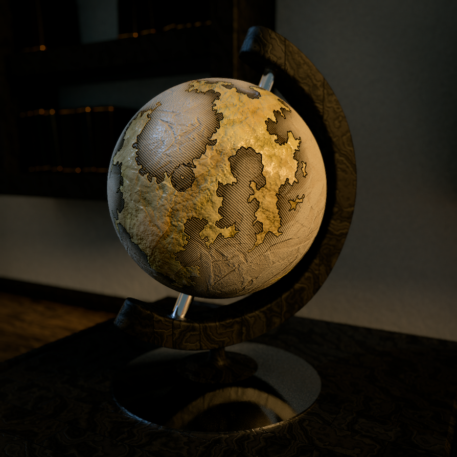 Globe by Xels034