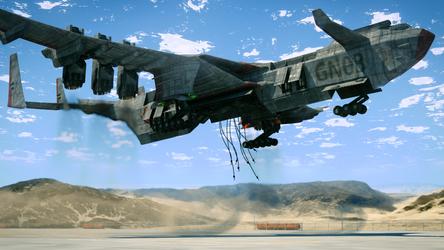 Skycrane by Xels034