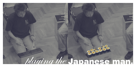playing the Japan man by wrapit