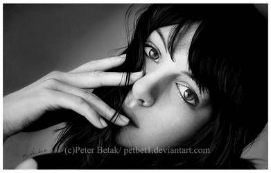 anne hathaway photorealistic by petbet1