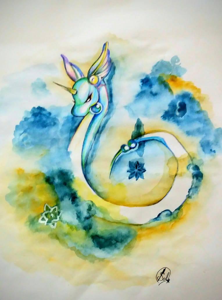 Dragonair Art