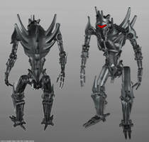 Alien Soldier Robot by TSABER