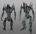 Alien Soldier Robot