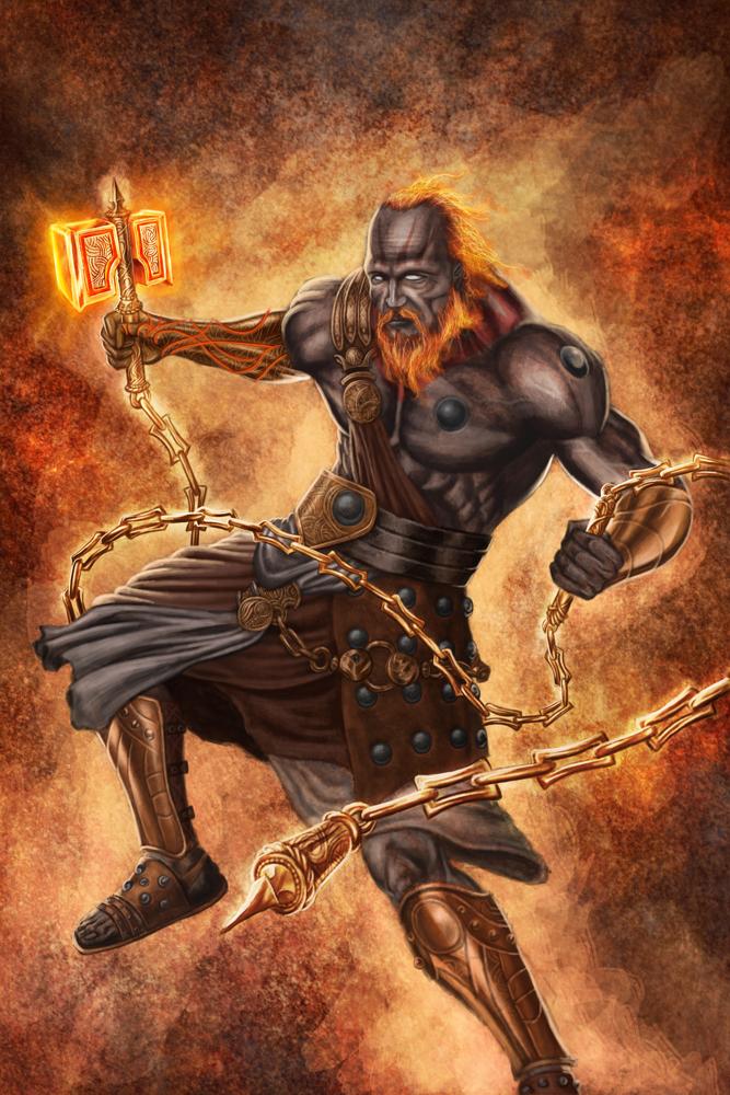 36 fantastiche immagini su Hephaestus god mythology art ...